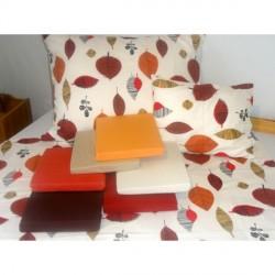 Leveles piros flanel ágyneműhuzat 3 részes