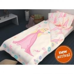 Hercegnő pamut ágyneműhuzat 3 részes