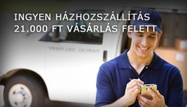 INGYEN HÁZHOZSZÁLLÍTÁS 21.000 Ft. VÁSÁRLÁS FELETT